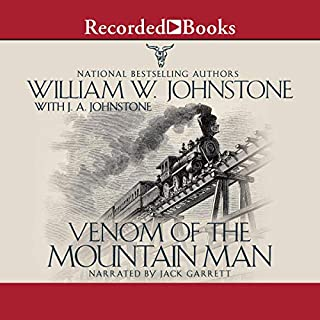 Venom of the Mountain Man audiobook cover art