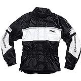 FLM Regenjacke, Regenschutz, Fahrrad Regenbekleidung Sports Membran Regenjacke 1.0, Klimamembran,...