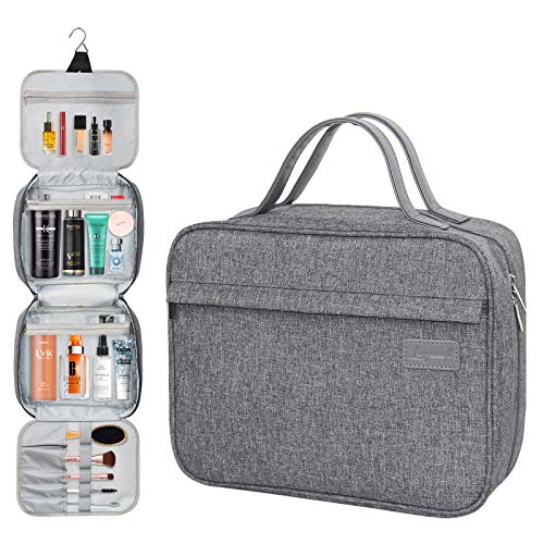 Langwolf Hanging Travel Toiletry Bag for Women and Men,...