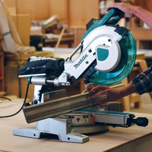 Makita LS1016L/2 Slide Compound Mitre Saw with Laser, 110V, 260mm