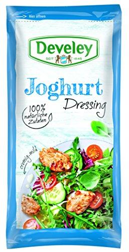 Develey Joghurt Portionsbeutel, 14er Pack (14 x 75 ml)