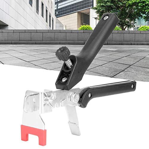 Jopwkuin Alicates espaciadores de baldosas, Kit de Sistema de nivelación de baldosas Colocación rápida y Sencilla de Material de PP Ajustable de 6 Engranajes con Accesorio para baldosas con un