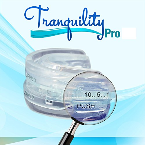 Tranquility Pro 2 Adjustable Bruxism Night Mouthpiece Sleep Mouthguard Mouth Guard Aid NOT Suitable...