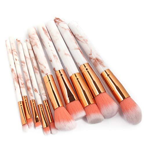 Maquillage Pinceaux Set Professionnel 10 Pcs Kits Outils De Maquillage Accessoire Poudre Fondation Pinceau Correcteur Ombre À Paupières Lèvre Mélange Maquillage Pinceaux