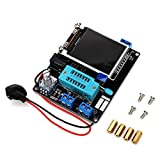 GM328 Transistor Tester, Multifuncional Transistor Checker Medición de Voltaje de Frecuencia Generador PWM