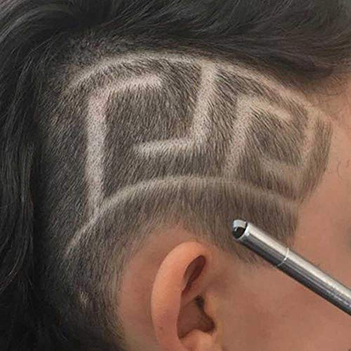 XTR Professional Scissors Augenbrauen Carve Pen Tattoo Friseur Friseur Schere Augenbrauenöl Kopf Carving Magic Engrave Barthaar