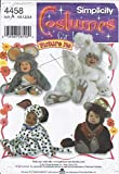 Simplicity 4856 Mouse, Dog, Bunny, Monkey'Picture Me' Costumes Sewing Pattern,...