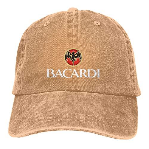 N / A Bacardi Hut Cap Cowboyhut Baseballkappe Baumwolle Unisex Alle Jahreszeiten Sind Bequem Und Atmungsaktiv