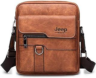 Jeep Buluo Bag For Men,Beige - Shoulder Bags