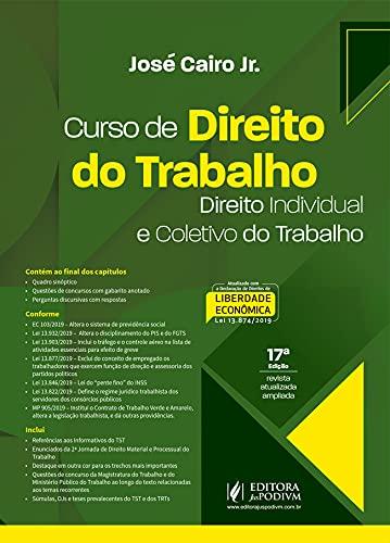 Curso De Direito Do Trabalho - 17ed/21