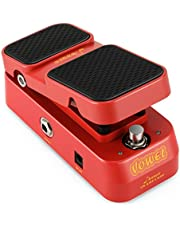 Donner 2 en 1 Wah Volumen Pedal, Vowel Mini Active Wah Volume Pedal para Guitarra