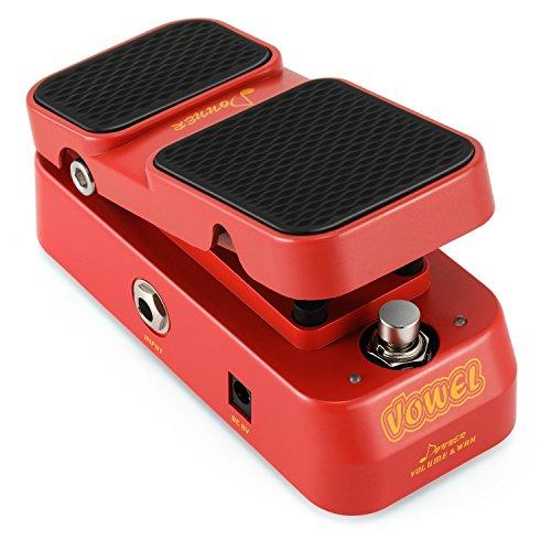 Donner 2 in 1 Vowel Mini Aktiv Wah Volume Gitarren Effektpedal