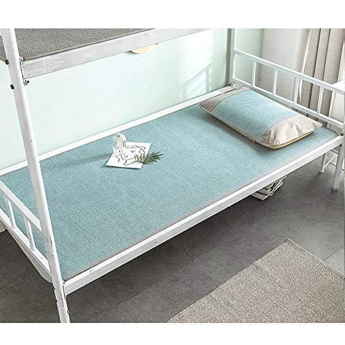 ZXL Rotan zomer slapen koelen matras matten pads Ice Silk Gladde airconditioning bed mat opvouwbare 4 soorten 6 maten (kleur: D, grootte: 120x195 cm)