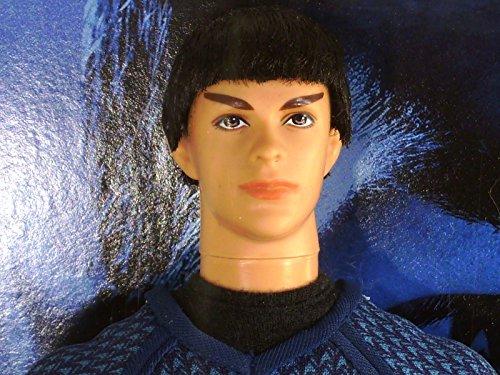 Mr. Spock Barbie Star Trek Dolls New Movie