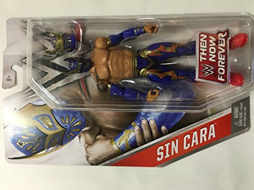 WWE, Basic Series, 2016 Then Now Forever, Sin Cara Action Figure , color/modelo surtido