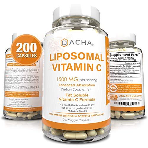 Natural Liposomal Vitamin C - 200 C…