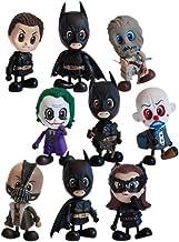 Hot Toys Batman Begins Cosbaby S - Lote de 9 figuras de acción (8 cm)