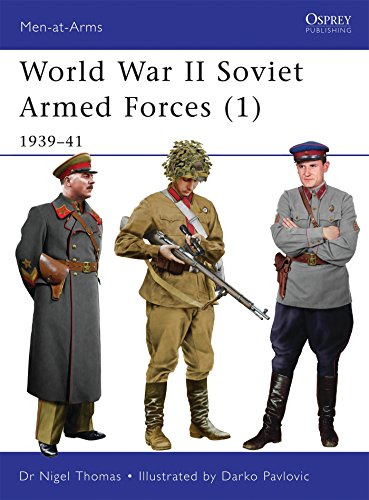 World War II Soviet Armed Forces (1): 1939-41