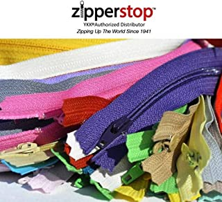 (Length 36cm ) - ZipperStop Wholesale Authorised Distributor YKK 31mix and Match Plus Bonus of 4 Neon - Assorted Seasonal ...
