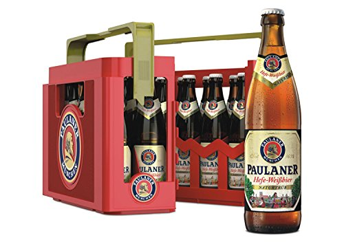 Paulaner - Hefe-Weißbier Naturtrüb - 20x0,5l Kiste - 5,5% Vol.