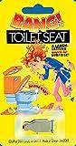 Joker Big Bang! Funny Popping Toilet Seat 1.25' Prank, Silver