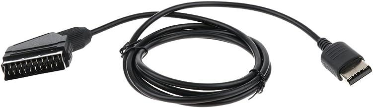 SM SunniMix Cable de Audio y Video RGB Scart Compatible con