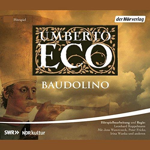 Baudolino audiobook cover art
