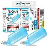 Nasopure'The Nicer Neti Pot' Bundle System Kit, Sampler Kit, Value Refill Kit