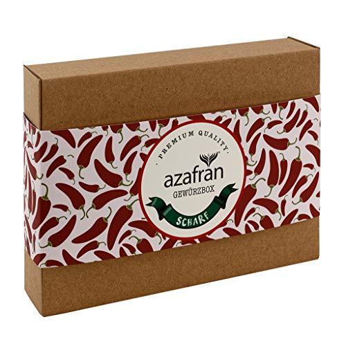 Azafran Gewürze Set Hot - Geschenkset Scharf mit Chili