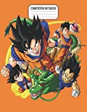 Composition Notebook: Dragon Ball Z Notebook | College Ruled Large Size 8.5' x 11' | 110 Pages | DBZ...
