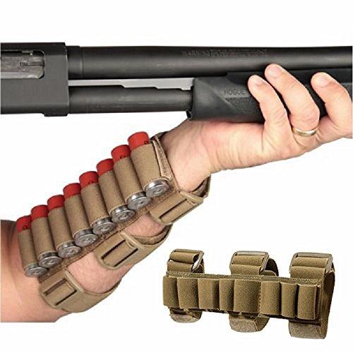 GVN 8 Rounds Gun Ammo Storage Shotgun Shell Holder Adjustable Shooters...