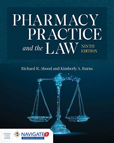 Compare Textbook Prices for Pharmacy Practice and the Law 9 Edition ISBN 9781284154979 by Abood, Richard R.,Burns, Kimberly A.