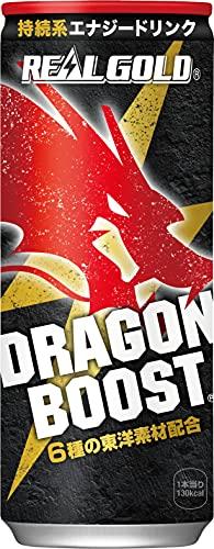 リアルゴールド(REAL GOLD) コカ・コーラ リアルゴールドドラゴンブースト 缶 250ml ×30本 炭酸