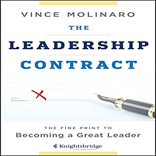 The Leadership Contract audiobook cover art