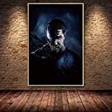 shuimanjinshan Venom Poster Held Tom Hardy Ölgemälde auf