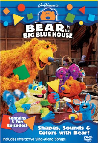 Shapes, Sounds and Colors With Bear [DVD] [Region 1] [US Import] [NTSC]
