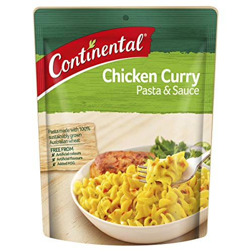 CONTINENTAL Pasta & Sauce (Side Dish)   Chicken Curry, 90g
