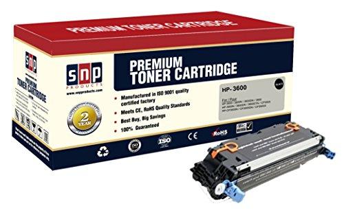 SNP Compatible Toner Cartridge HP 3600 (Q6470A), HP 502A Set of 1Black, 1BK HP Q6470A. Compatible with-HP 3600, 3600N, 3600DN, 3800, 3800N, 3800DN, 3800DTN, CP3505, CP3505N, CP3505DN, CP3505X