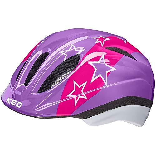 KED Meggy II Helm Kinder Lilac Stars Kopfumfang S/M | 49-55cm 2021 Fahrradhelm