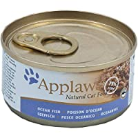 Applaws Chicken with Pumpkin Tin is a premium complementary cat food made using only the ingredients listed on the label For cats that deserve to be spoilt Applaws is a completely natural complementary pet food for cats Item display weight: 1.68 kilo...