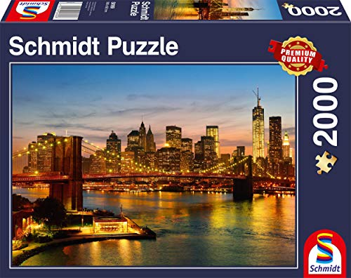 Schmidt Spiele 58189 - New York, 2000 Teile Puzzle