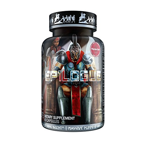 EP1LOGUE Muscle Builder & Epicatechin Supplement w/Superior Absorption   Lean Muscle Building Formula w/Nitric Oxide Stimulator Vaso-6 & Urolithin B for Natural Body Building