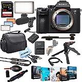 Sony Alpha a7R IIIA Mirrorless Digital Camera Body (International Version)-42MP Full-Frame Exmor R BSI CMOS Sensor, BIONZ X Image Processor & Front-End LSI, 399-Point AF System & 10 fps Shooting, UHD 4K30p Video with HLG & S-Log3 Gammas, 3.69m-Dot Tr...