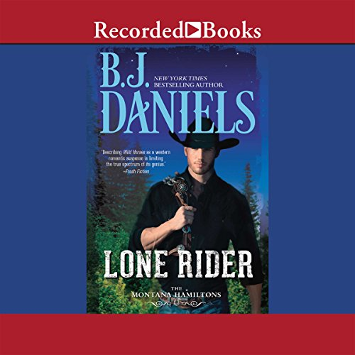 Lone Rider audiobook cover art