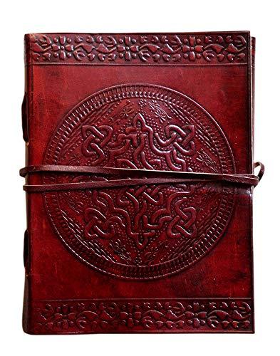 Celtic Knot Leather Journal Bound For Men Women Antique Old Vintage handmade blank Paper