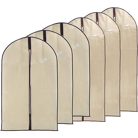 A Prueba de Polvo A Prueba de Humedad Vestido a Prueba de polillas Cubre con 1 Paquete Zapatos Bolsa para Armario esafio Bolsas de Ropa 3 Piezas 120x60cm Ropa no Tejida colgada Ropa para Ropa