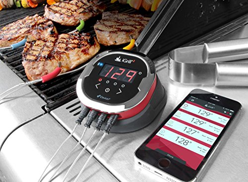 iGrill2 Complete Master Kit with 4 Pro Meat Probes - Weber/iDevices
