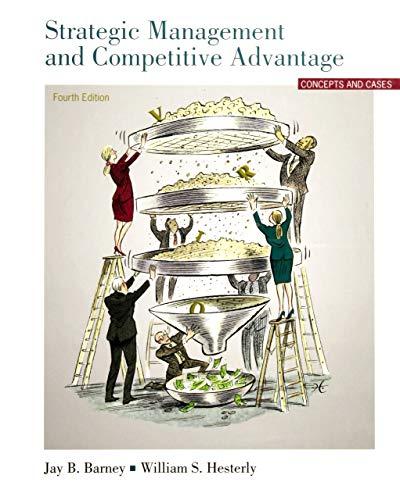 Strategic Management And Competitive Advantage Concepts