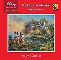 Thomas Kinkade Studios: Disney Dreams Collection Mickey and Minnie Collectible P