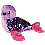 Sequinimals Sequin Plush Seal, Adorable Stuffed Animal, Reversible Sequins Purple to Silver (SG_B07DH46MJX_US)